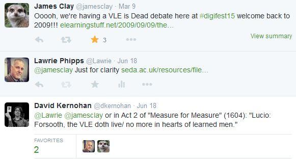 VLE is Dead