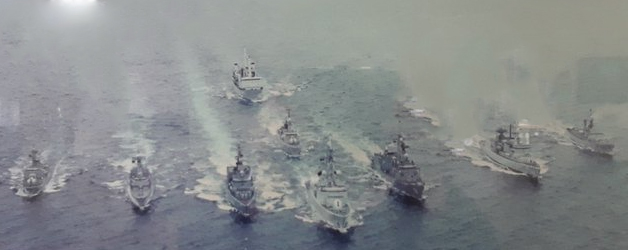 Fleet of ships
